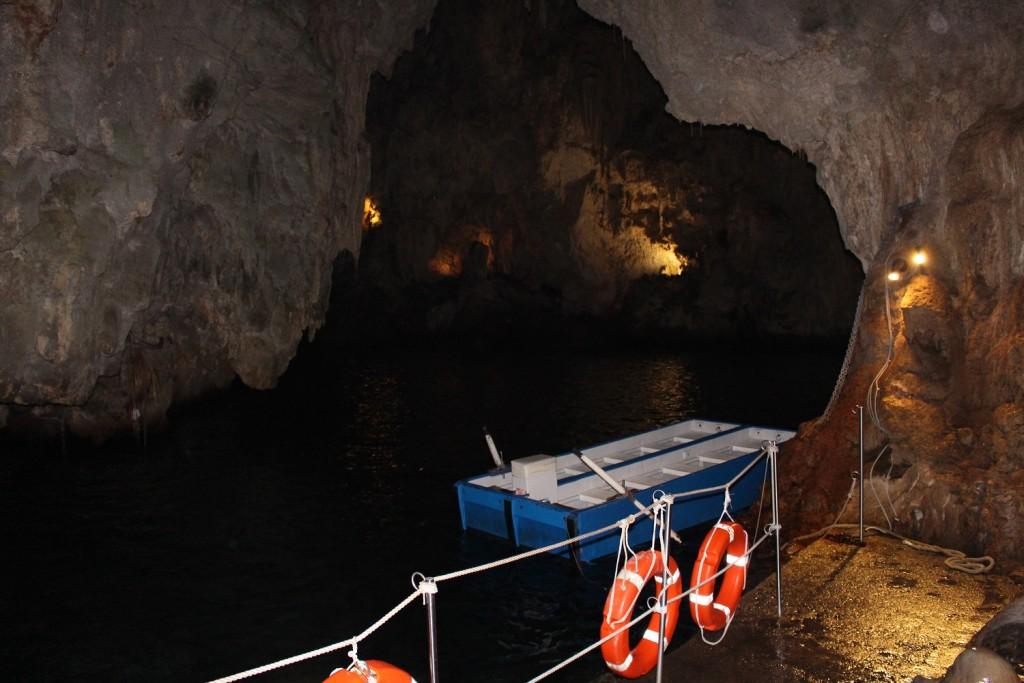 grotto boat