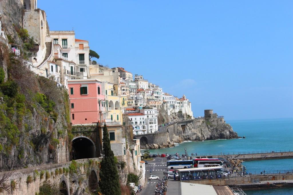 walking amalfi coast 8 view of Amalfi 2